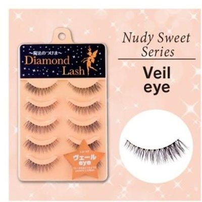 Diamond Lash Diamond Lash 自然空靈感眼尾加密假睫毛 DL54599 橘盒