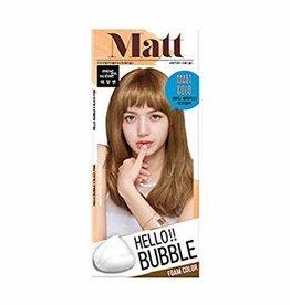 爱茉莉 Hello Bubble 泡沫染髮剂 8MG Matt Gold