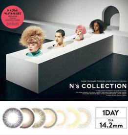 N's COLLECTION 現貨 N's Collection 1 Day 10 Pcs 日拋美瞳10枚裝