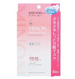 MINON 博主推薦!Minon 氨基酸敏感肌用保濕面膜 4Pc
