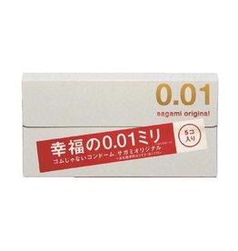 Sagami Original 0.01超薄安全套5入