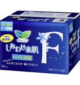 Kao 花王 花王乐而雅超安心f系列卫生巾夜用护翼型 30Cm 10片