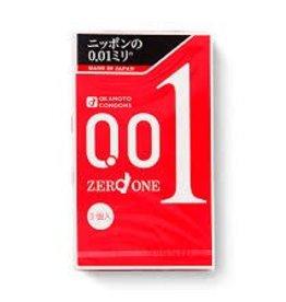 Okamoto 岡本 冈本0.01 安全套 3入