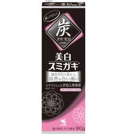 Kobayashi小林製藥 小林制药美白去牙渍防口臭竹炭黑炭牙膏90G