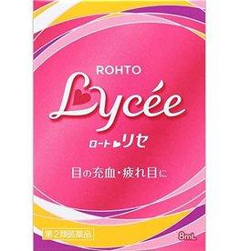 Rohto Lycee 小红花抗疲劳充血去红血丝眼药水(裸眼用)