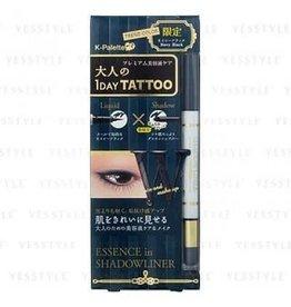K- Palette Emma推薦!K- Palette 1 Day Tattoo 眼線眼影筆 限定藍黑色