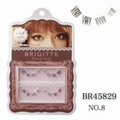 Brigitte Brigitte 憧憬美瞳假睫毛 08小恶魔重点-下睫毛用