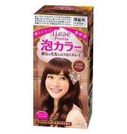 Kao 花王 花王Prettia泡沫染髮膏可可布朗棕色