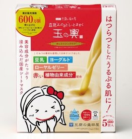 Tofu Moritaya 盛田屋 盛田屋豆腐面膜 红色紧致保湿