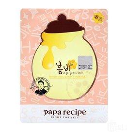 Papa Recipe Papa Recipe 春雨粉色玫瑰黄金蜂巢蜂王浆面膜单片