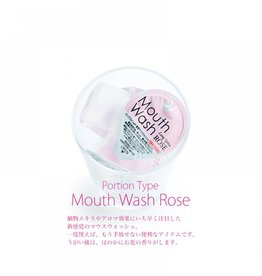 Mouth Wash 玫瑰香漱口水一个入