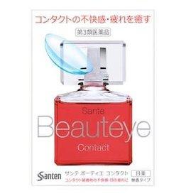 Santen Santen Beauteye 止痒抗疲护角膜玫瑰眼药水 美瞳专用