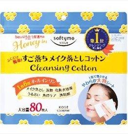 Kose Kose 蜂蜜温和保湿卸妆棉 80枚入