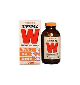 Wakamoto 強力若素諾元錠腸胃錠乳酸菌促進消化清腸胃通便秘 1000粒