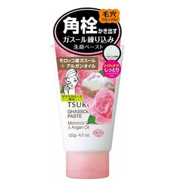 BCL Tsururi 去黑头深层清洁洗面奶 玫瑰香