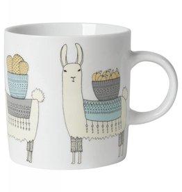 Now Designs 7001489 Mug Short Llamarama Lama
