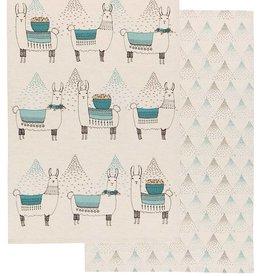 Now Designs 7001818 Tea towel set of 2 Llamarama Lama