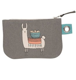 Now Designs Zip Pouch Small Llamarama