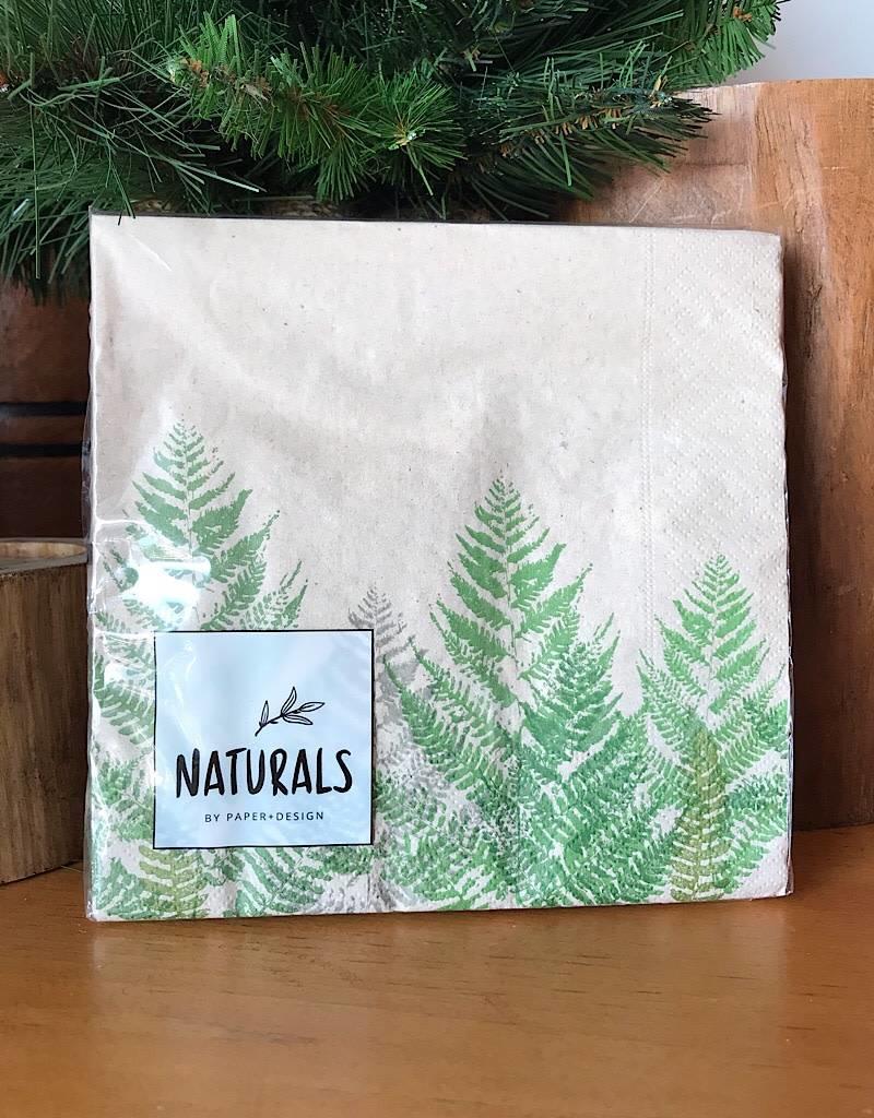NA200 Fern Natural Lunch Napkin