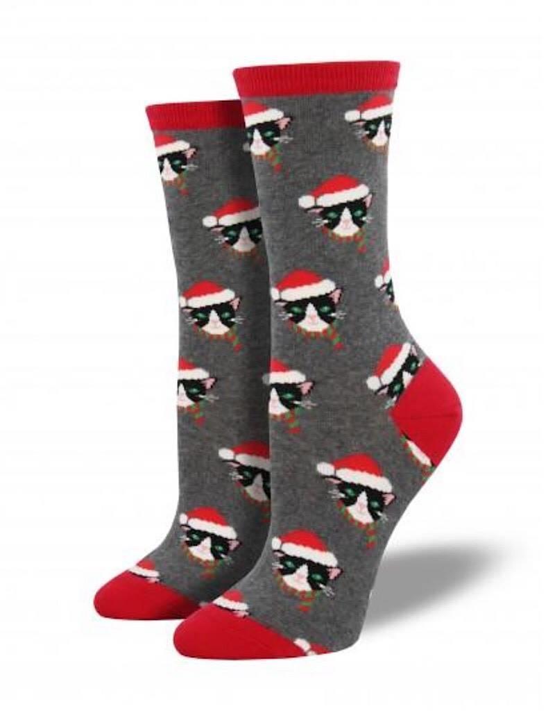 Socks Santa Cat