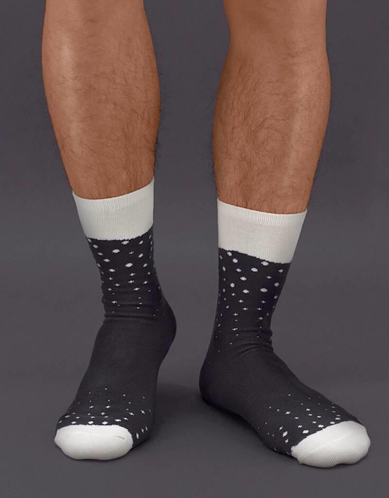 LK118 Beer Socks Stout