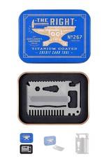 AGEN267 Credit Card Tool Titanium Finish