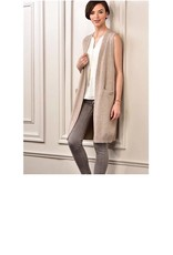 Charlie Page Stylish Midi Vest FALL S/M