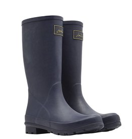 Joules Joules Roll Up Welly French Navy Boot