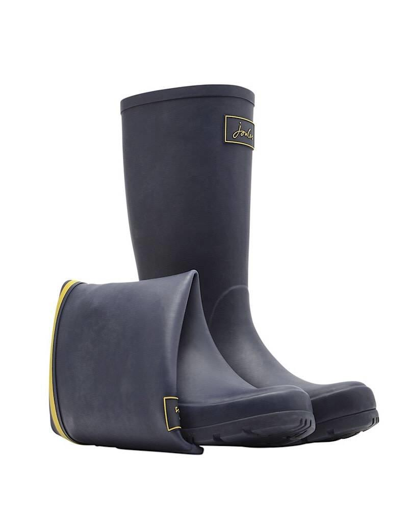 Joules Joules Roll Up Welly French Navy Boot Spring 2019