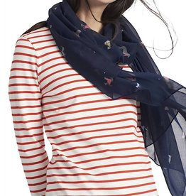 Joules Joules Wensley Navy Dogs Scarf