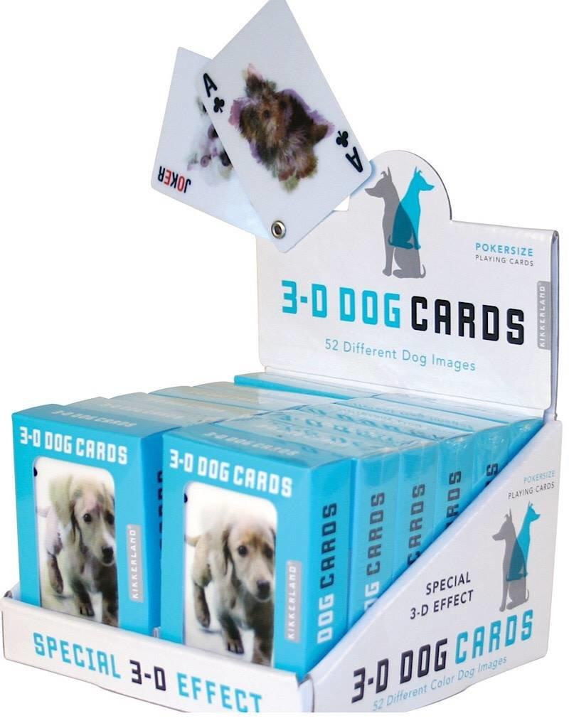 Kikkerland GG40 Lenticular Dog Playing Cards