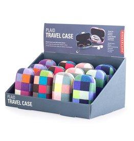Kikkerland Travel Case Plaid