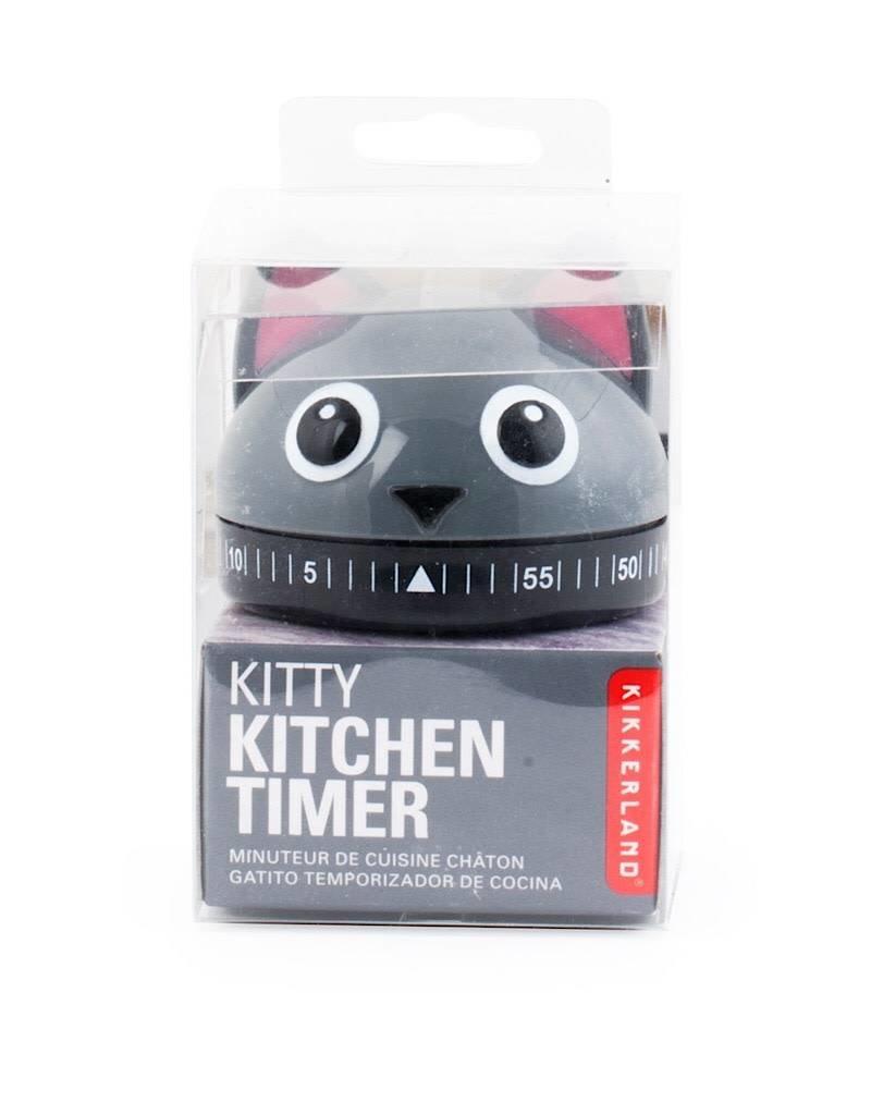Kikkerland KT44 Cat Kitchen Timer