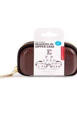Kikkerland MG75 Folding Readers In Zipper Case