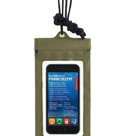 Kikkerland Waterproof Phone Sleeve Green