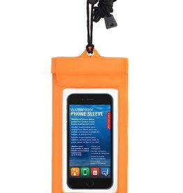 Kikkerland Kikkerland CD108-OR Waterproof Phone Sleeve Orange