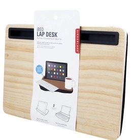 Kikkerland Lap Desk Wood