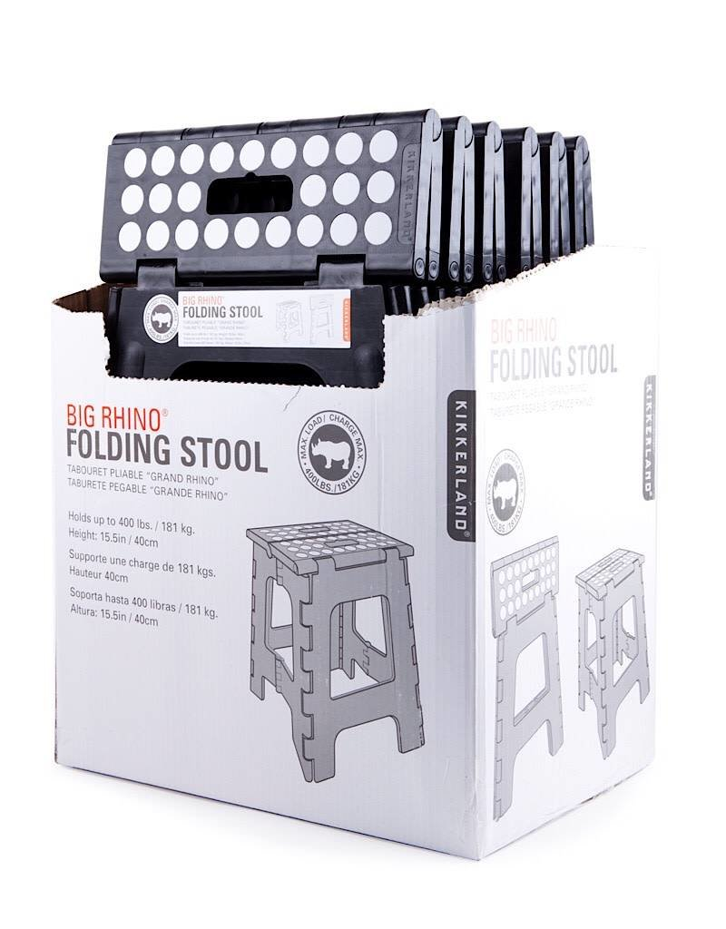 Astonishing Kikkerland Kikkerland Step Stool Folding Tall Black Unemploymentrelief Wooden Chair Designs For Living Room Unemploymentrelieforg