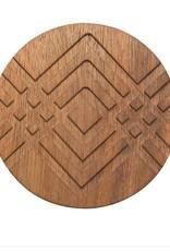Now Designs 7001828 Coaster Geo Set/4 Facet
