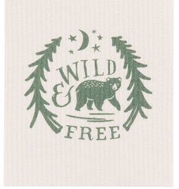 Now Designs Swedish Dishcloth Wild & Free