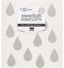 Now Designs Swedish Dishcloth London Gray
