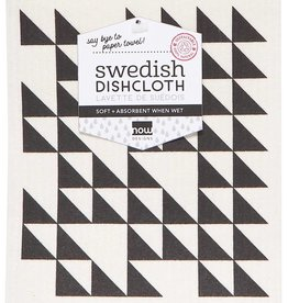 Now Designs Swedish Dishcloth Black
