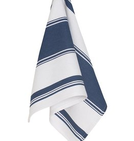 Now Designs Tea Towel Symmetry Navy White