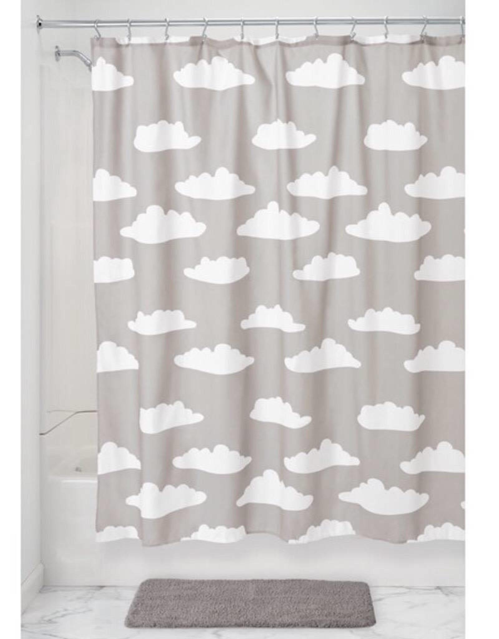 75250 Shower Curtain Cloud SC Gray