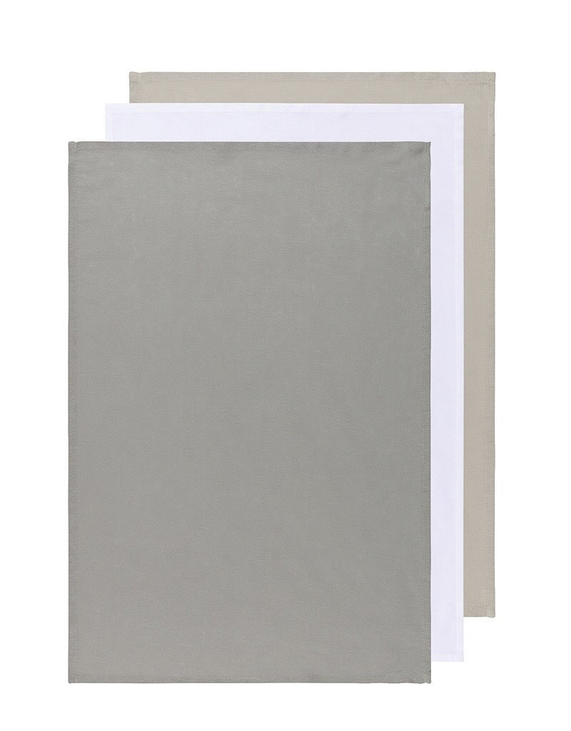 Now Designs 911422 Tea Towel Floursack London White Moonstruck Set Of 3