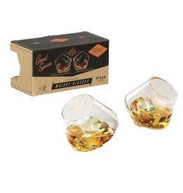 Rocking Whisky Glasses Set of 2