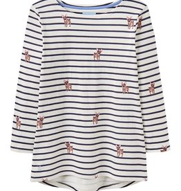 Joules Joules Harbour Dog Stripe SALE 40% Reg:52.95 Sp19