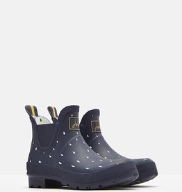 Joules Joules Wellibob Navy Raindrops