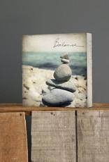 Cedar Mountain Small Art Block Balance Rocks