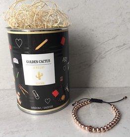 Wisdom bracelet in a can